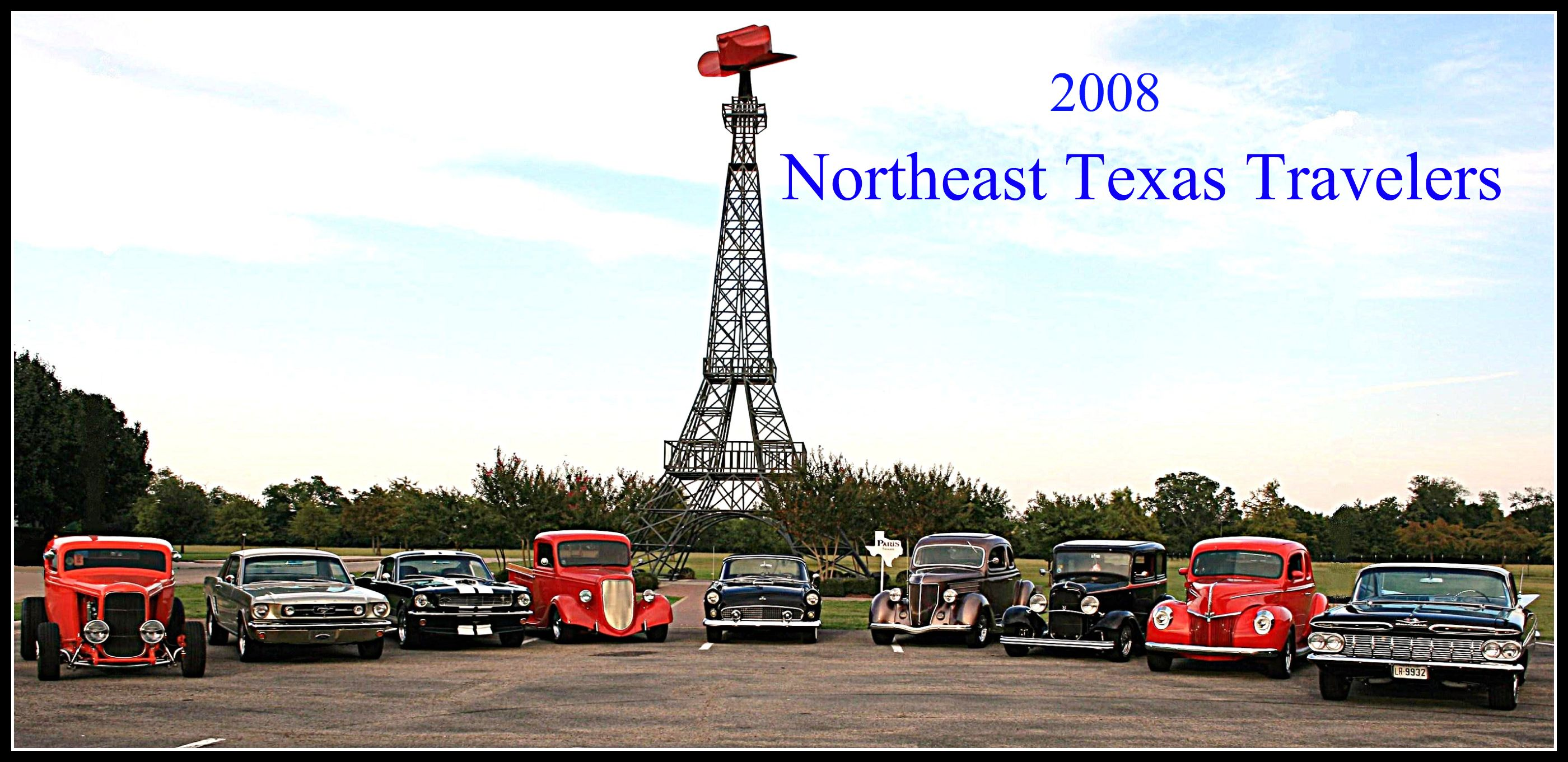 Northeast Texas Travelers Home - Car shows north east